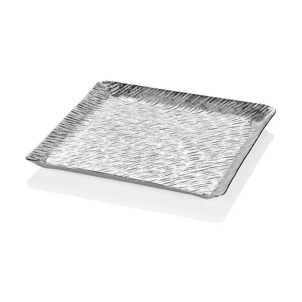 Tavă Mia Uru, 33 x 33 cm, argintiu