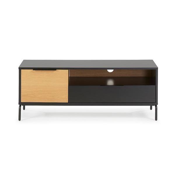 SAVOI fekete-barna TV-állvány, 120 x 50 cm - La Forma