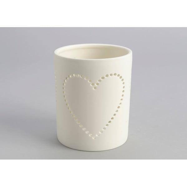 Stojan na svíčku Heart Candle Jar