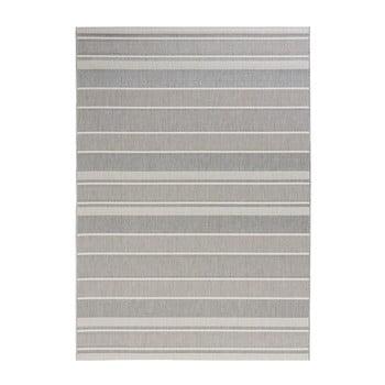 Covor potrivit pentru exterior Bougari Strap, 160 x 230 cm, gri imagine