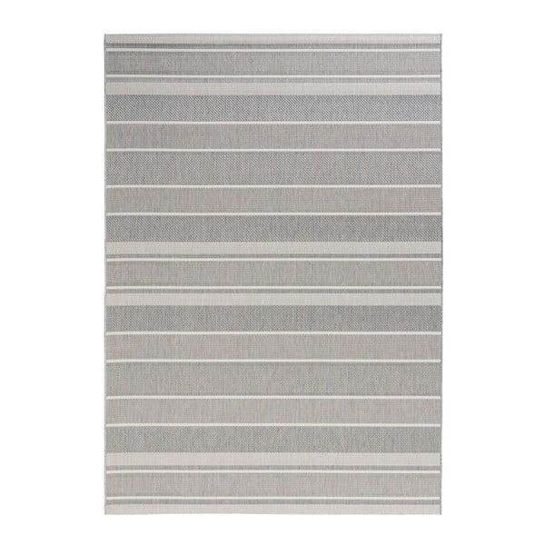 Szary dywan odpowiedni na zewnątrz Bougari Strap, 80x150cm