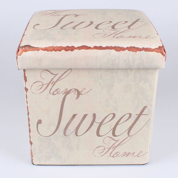 Taburetka na sezení s úložným prostorem Sweet
