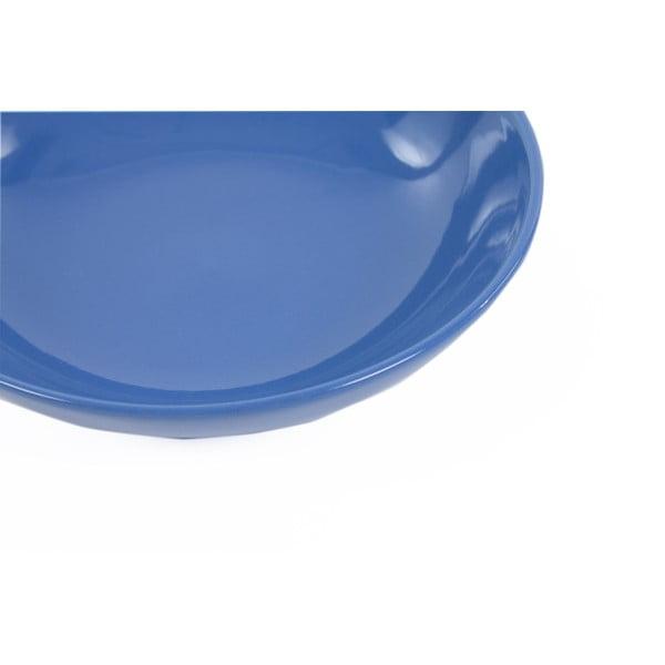 Sada 6 talířů Kaleidos 21 cm, modrá