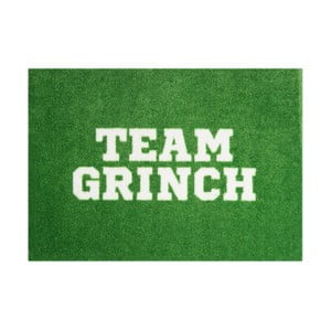Zelená rohožka Mint Rugs StateMat Team Grinch,50x75cm