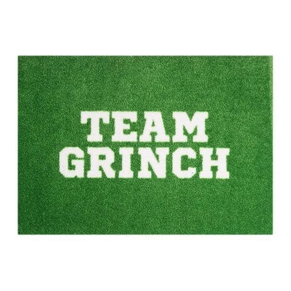Zelená rohožka Mint Rugs StateMat Team Grinch, 50 × 75 cm