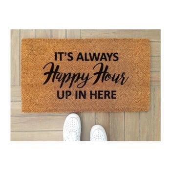 Preș Doormat Happy Hour, 70 x 40 cm de la Unknown