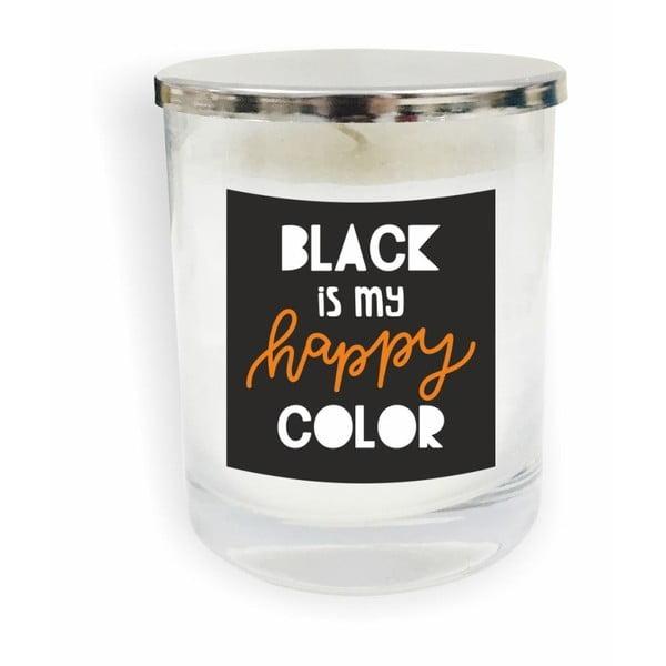 Motto Glass Candle V11 fehér gyertya - North Carolina Scandinavian Home Decors