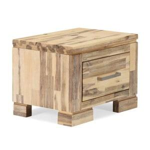 Noptieră din lemn de salcâm Sey
