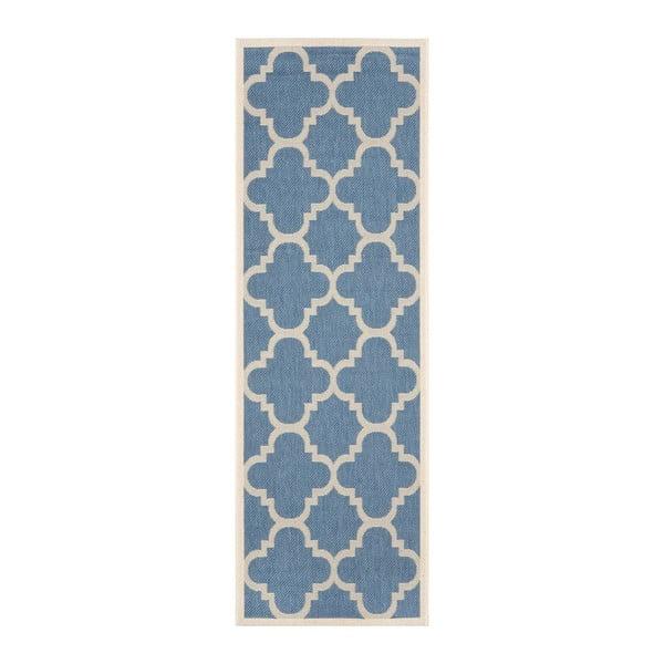 Koberec Safavieh Mali Blue, 243 x 68 cm