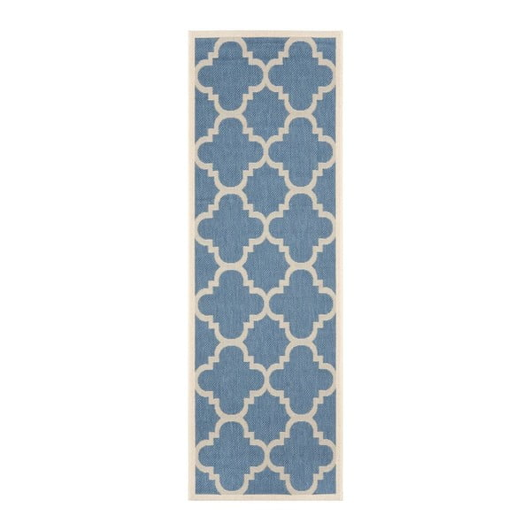 Chodnik Safavieh Mali Blue, 243x68 cm