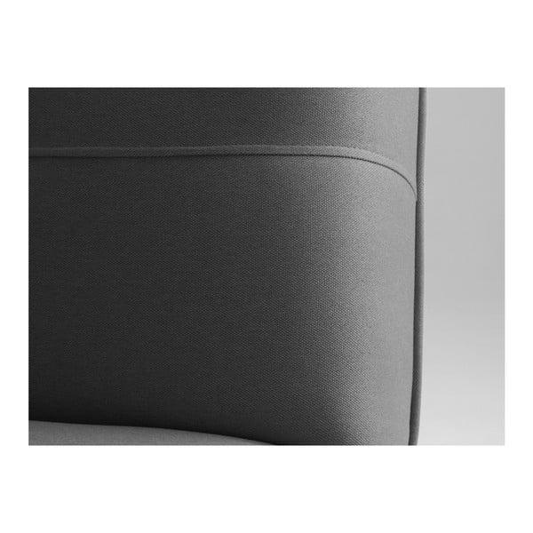 Tmavě šedá rozkládací dvoumístná pohovka Custom Form Modes