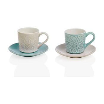 Set 2 căni din ceramică cu farfurii Brandani Alice de la Brandani