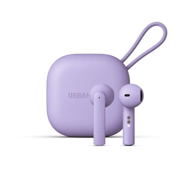 Fioletowe słuchawki bezprzewodowe Urbanears Luma