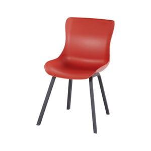 Sada 2 červených zahradních židlí Hartman Sophie Element