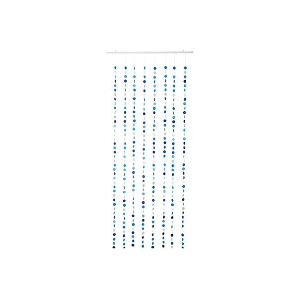 Girlandový závěs Curtain Turquoise