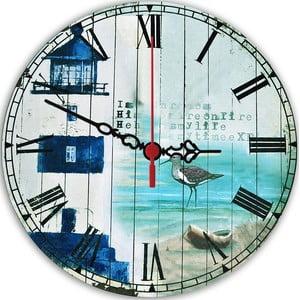 Nástěnné hodiny Seaside, 30 cm