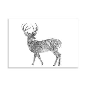 Poster Americanflat Deer, 30 x 42 cm
