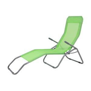 Șezlong ajustabil Unimasa Garden, verde
