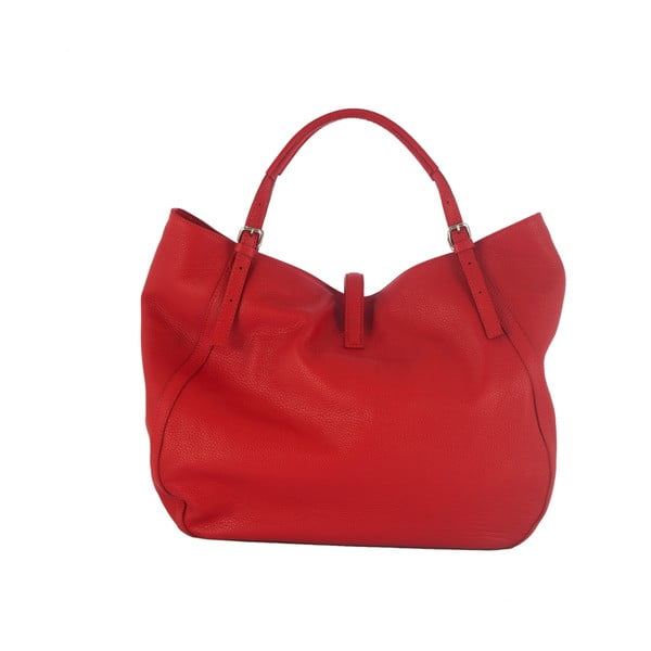 Kožená kabelka Andrea Cardone 2001 Red