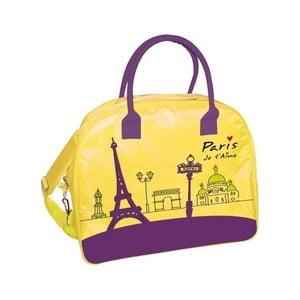 Žlutá cestovní taška Incidence Paris