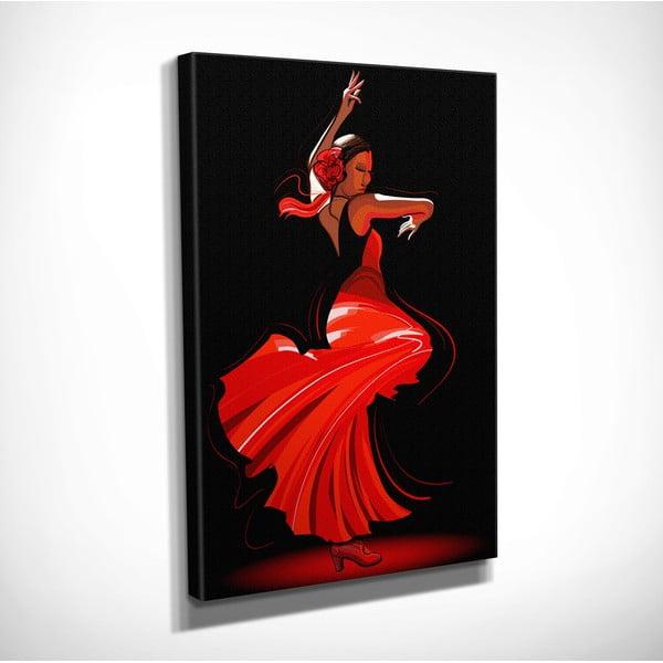 Tango vászon fali kép, 30 x 40 cm