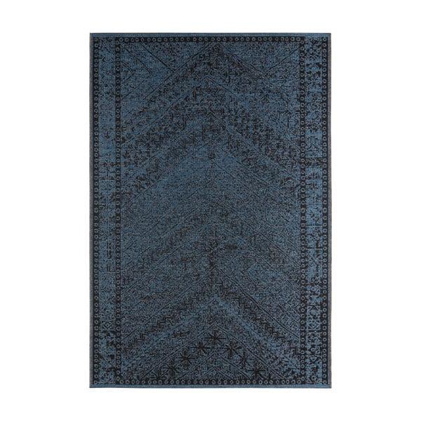 Covor potrivit pentru exterior Bougari Mardin, 70 x 140 cm, albastru închis