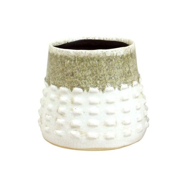 Pískově hnědý květináč z keramiky Strömshaga Gerdsken, Ø 16 cm