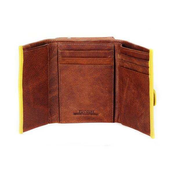 Kožená peněženka Velletri Puccini