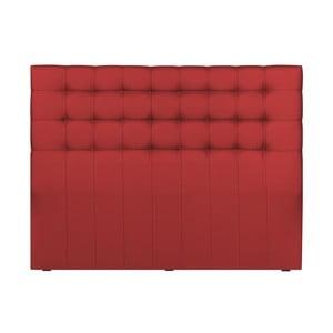 Červené čelo postele Palaces de France Belcourt,200x120cm