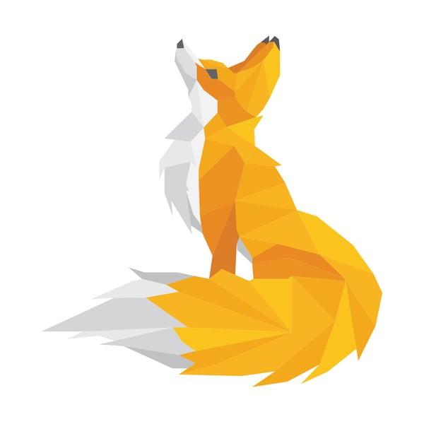Naklejka Ambiance Origami Foxie