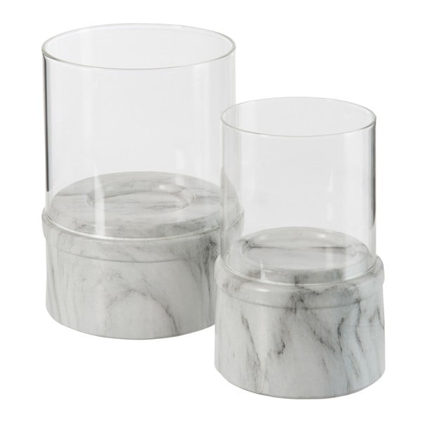 Svícen Look Marble, 15 cm
