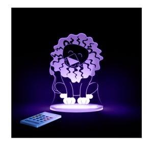 Dětské LED noční světýlko Aloka Lion