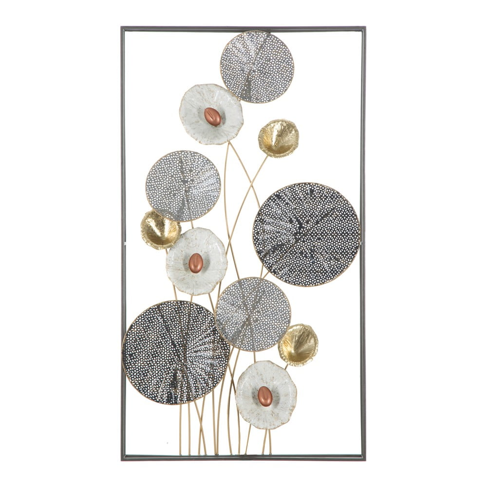 Nástěnná kovová dekorace Mauro Ferretti Grid, 50x90,5cm