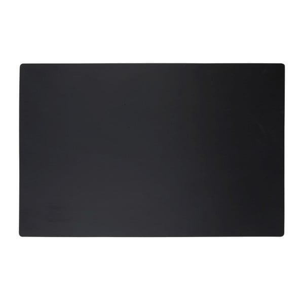 Černé prostírání KJ Collection Classic, 44x28,5 cm