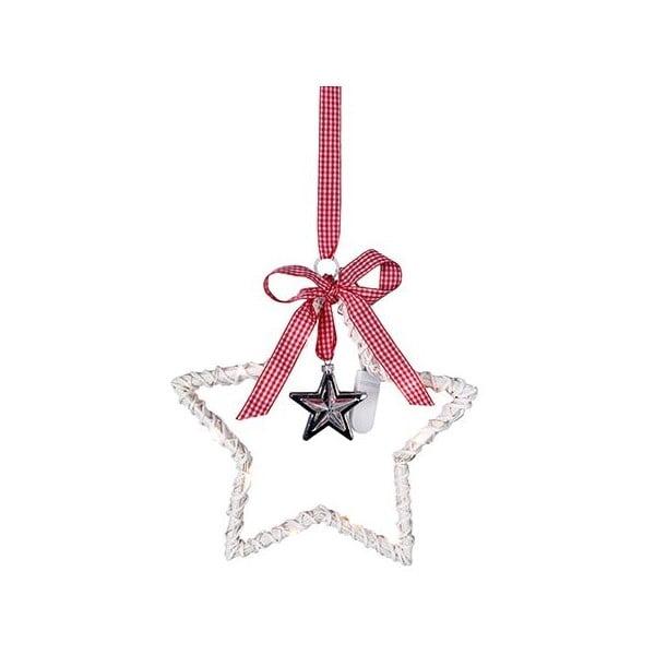 Svítící dekorace Willow Star White