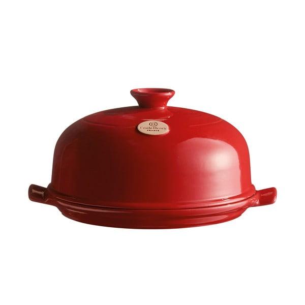 Červená okrúhla forma na pečenie chleba Emile Henry