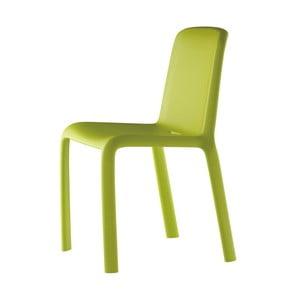 Židle Snow 300, světle zelená