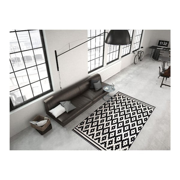 Koberec Stella 300 Black White, 160x230 cm