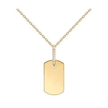 Colier placat cu aur PD Paola Talisman Gold imagine