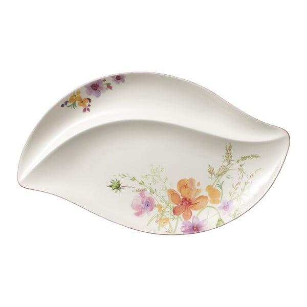 Porcelánový servírovací tanier s motívom kvetín Villeroy & Boch Mariefleur Serve, 50 x 30 cm