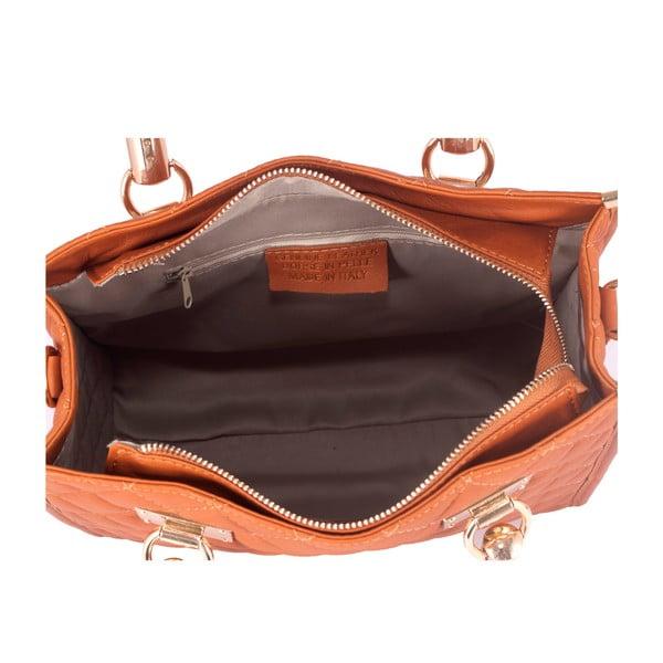 Kožená kabelka Andrea Cardone 2005 Dark Orange