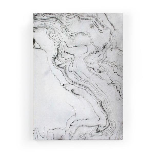 Obraz zo zamatového plátna Velvet Atelier Marble, 50×70cm