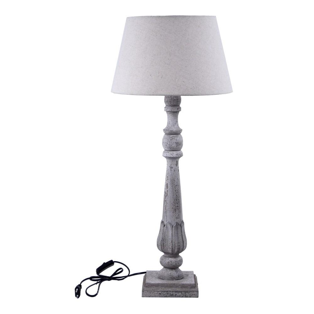 Bílá stolní lampa Ego Dekor Reige