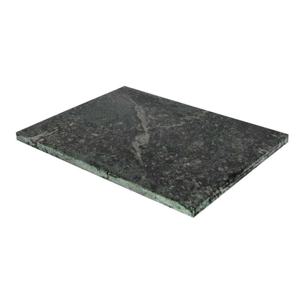 Zelené krájecí z mramoru Strömshaga, 30 x 40 cm