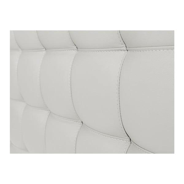 Bílé čelo postele Windsor & Co Sofas Deimos, 160 x 120 cm