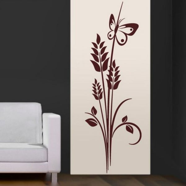 Dekorativní nálepka na stěnu Dekorative Flower