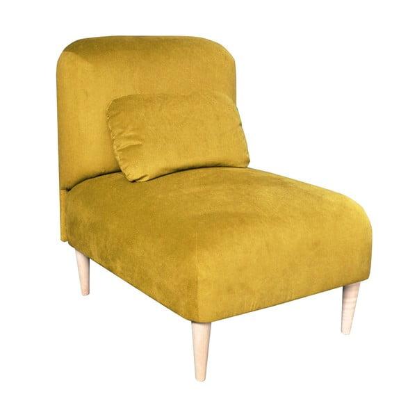 Křeslo Jupi, žluté