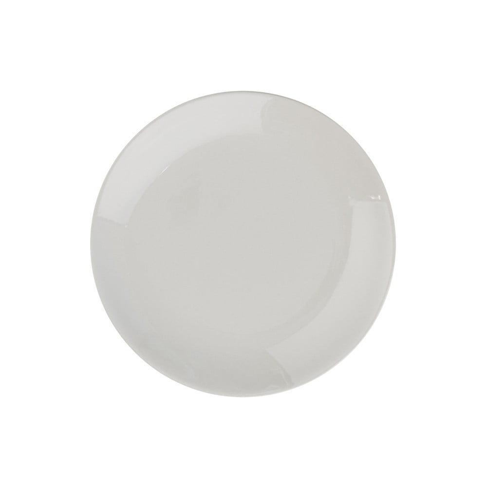Béžovošedý keramický talíř Butlers Sphere, ⌀20,5cm