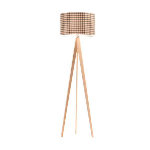 Stojací lampa Artist Checks/Birch, 150x42 cm