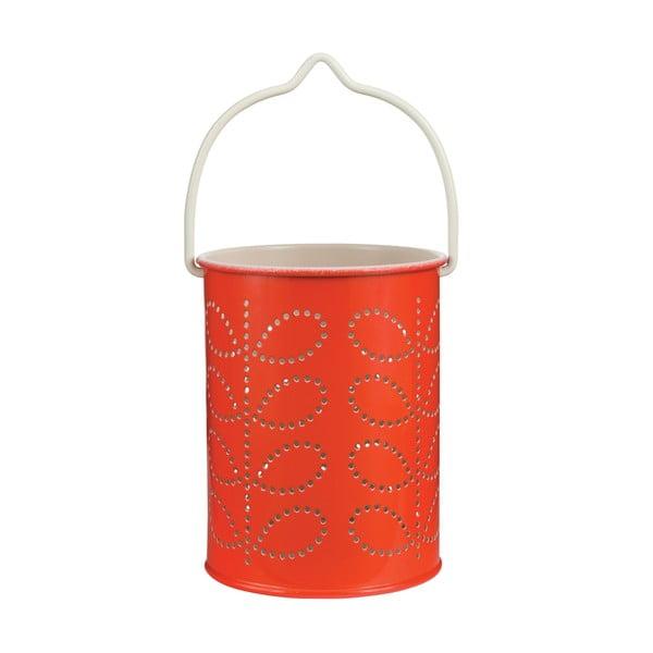 Oranžová lucerna Orla Kiely Warm Red